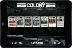 L'application mobile de Colony