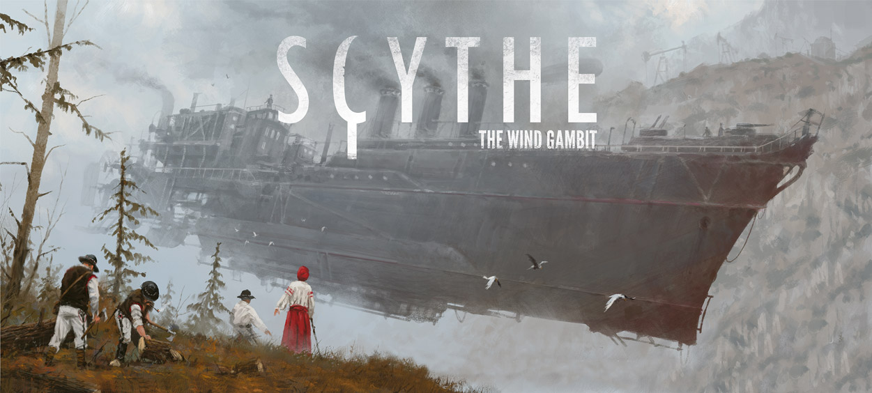 Scythe « The Wind Gambit ». Stonemaier vous envoie en l'air !