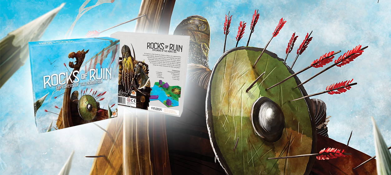 Rocks of Ruin, l'extension pour Explorers of the North Sea